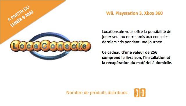 Locaconsole Location de consoles de jeux vidéo à la journée