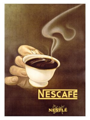 Nestle-Nescafe-Posters-Marketing sensoriel