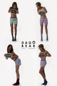 Les femmes portent les ensembles Dagobear