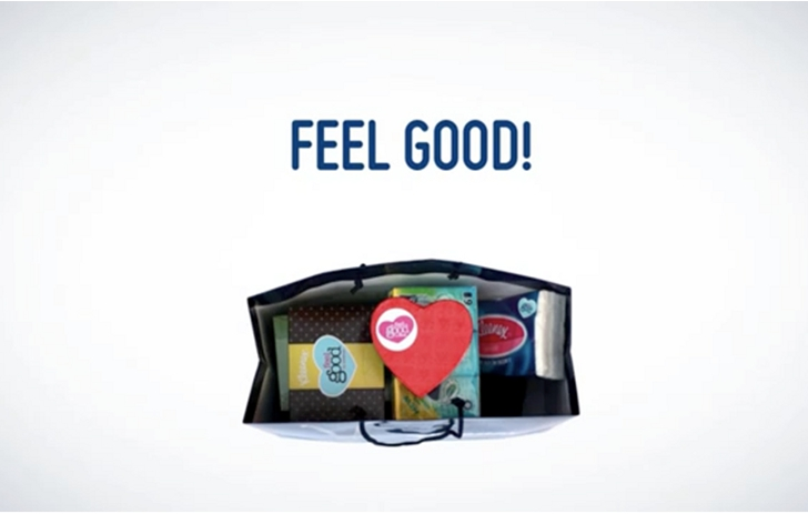 feel good kleenex facebook
