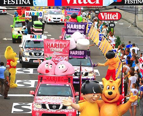 Caravane publicitaire du Tour de France