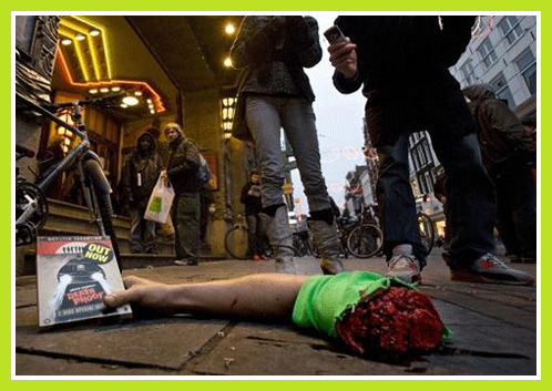 Campagne macabre pour la sortie d'un jeu de PS3